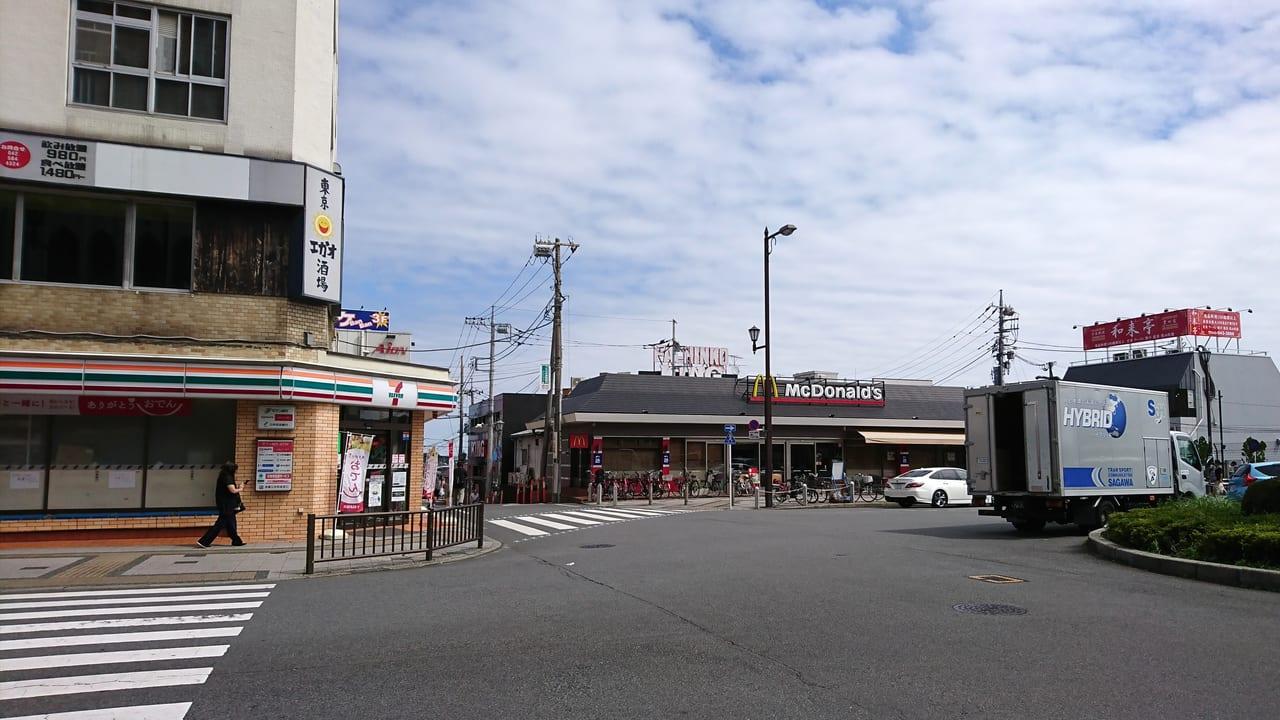 豊田駅北口バスロータリー周辺