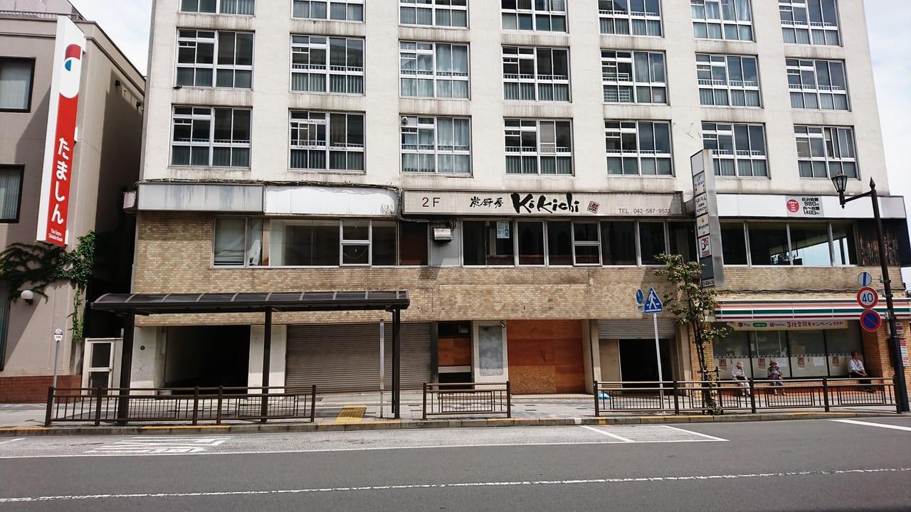 豊田駅北口にある建て替え予定のビル