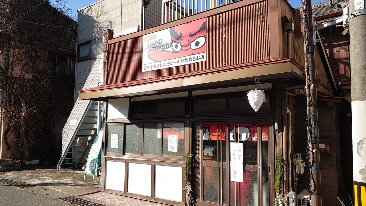 豊田駅南口にオープンしたBEER STAND TOYODA