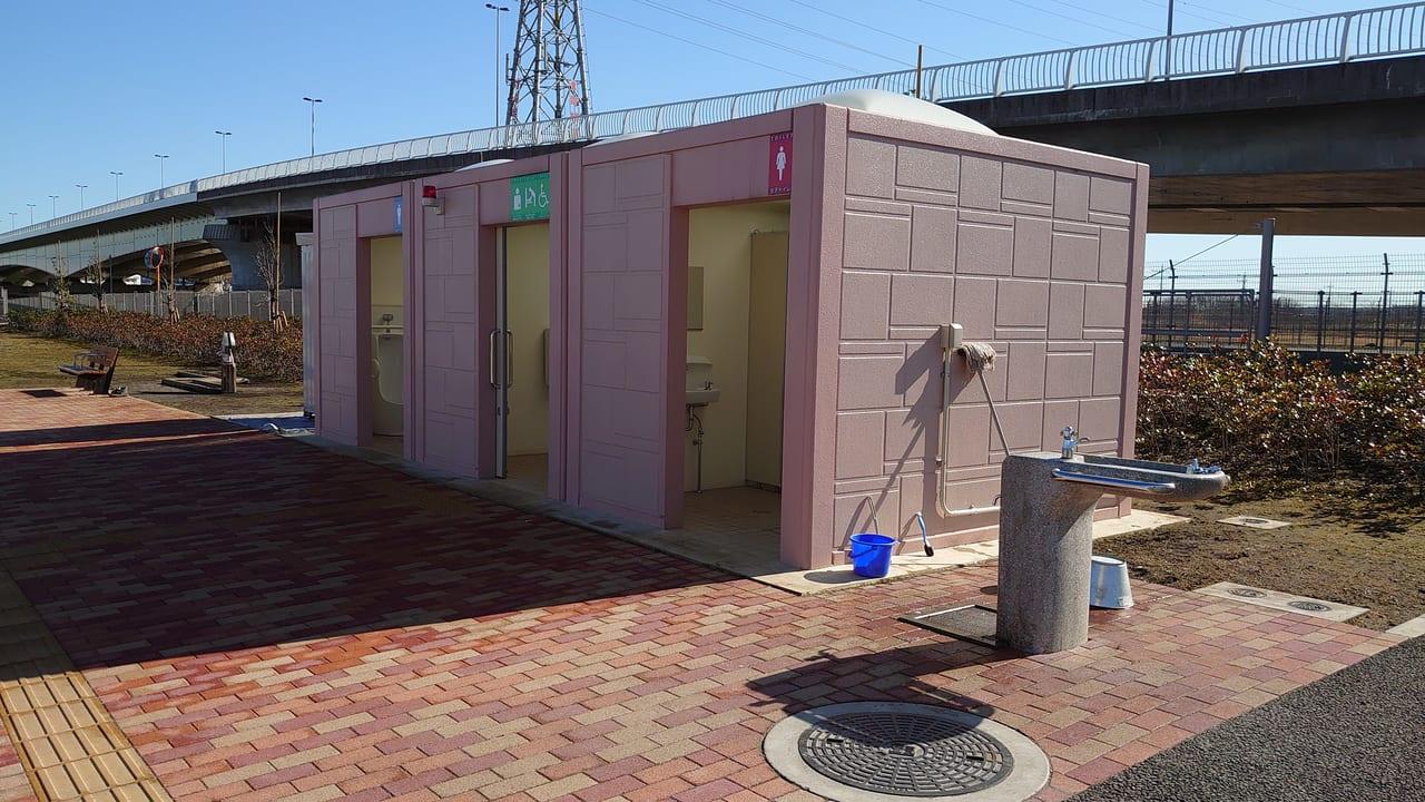 北川原公園のトイレ