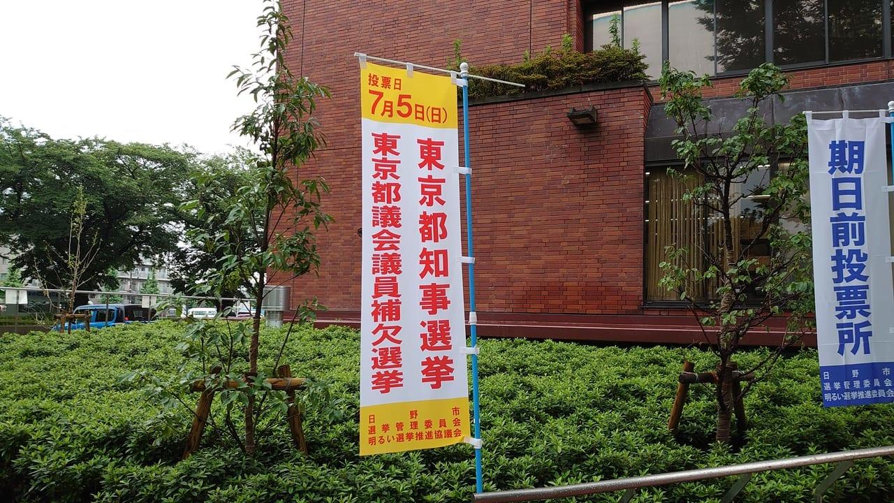 東京都議会議員補欠選挙