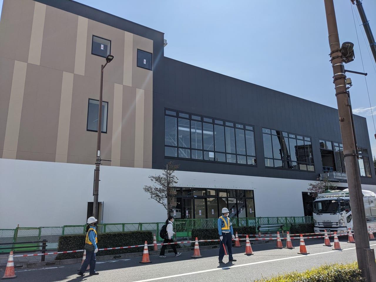 4月の日野駅前のAEON FOOD STYLEの様子は?